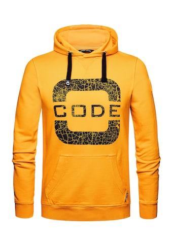CODE-ZERO Hoodie »Transire Hoodie«, mit Label-Applikationen kaufen