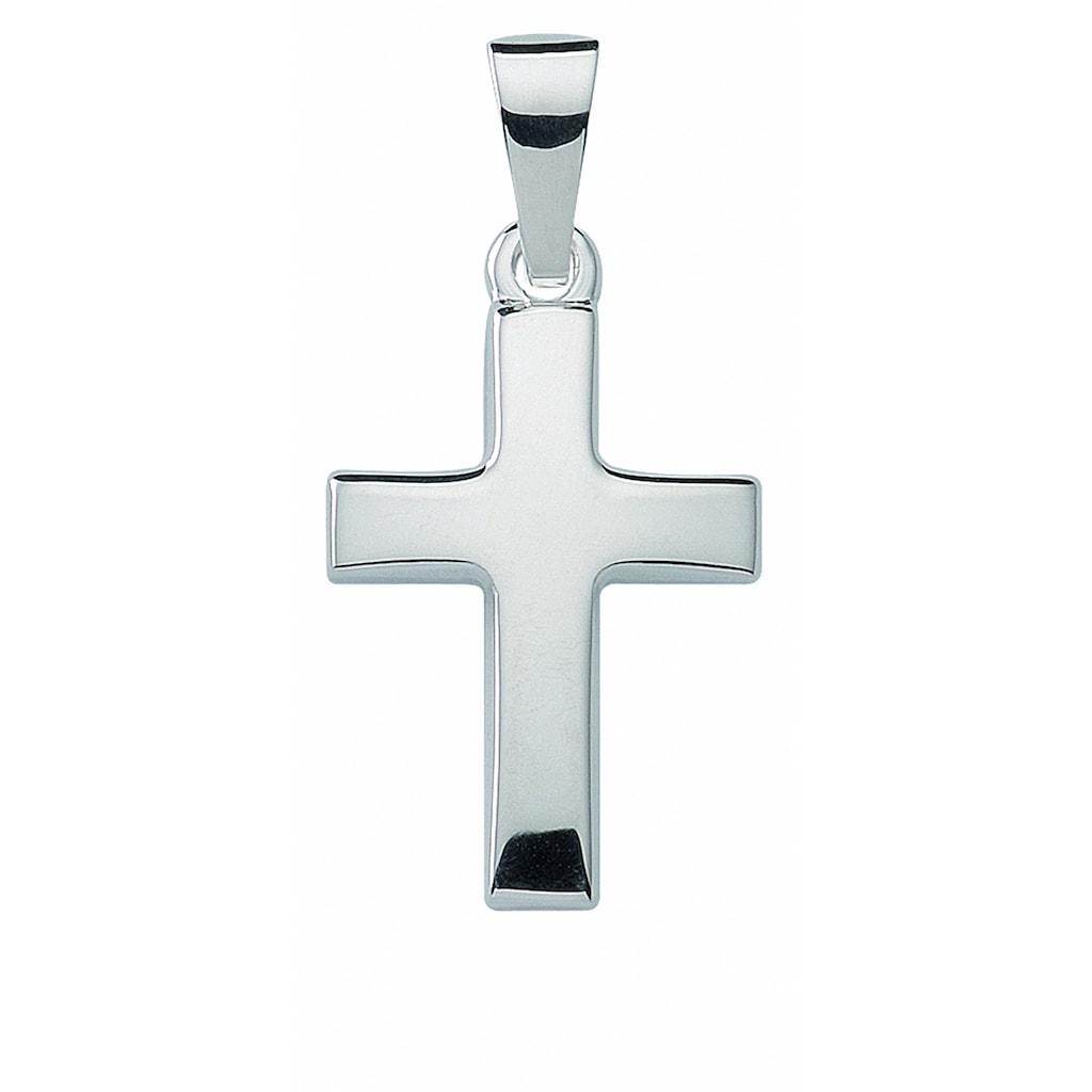 Adelia´s Kettenanhänger »925 Silber Kreuz Anhänger«