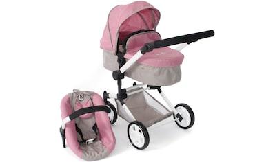 CHIC2000 Kombi-Puppenwagen »Linus, Bärchen«, mit Babywanne und Autositz kaufen