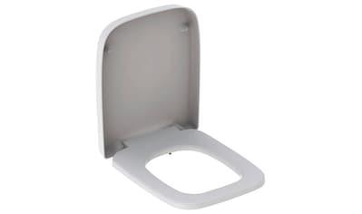 GEBERIT WC - Sitz »RENOVA Nr. 1 PLAN«, Befestigung von unten, weiß kaufen