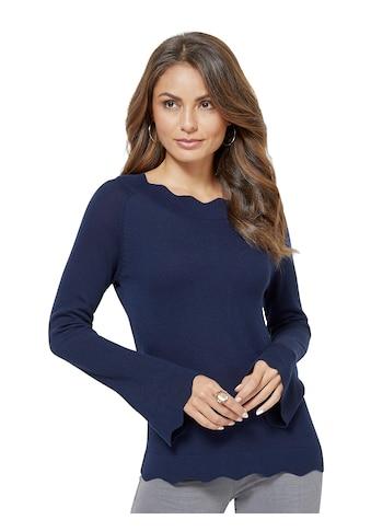 Creation L Pullover aus geschmeidig leichtem Feinstrick kaufen