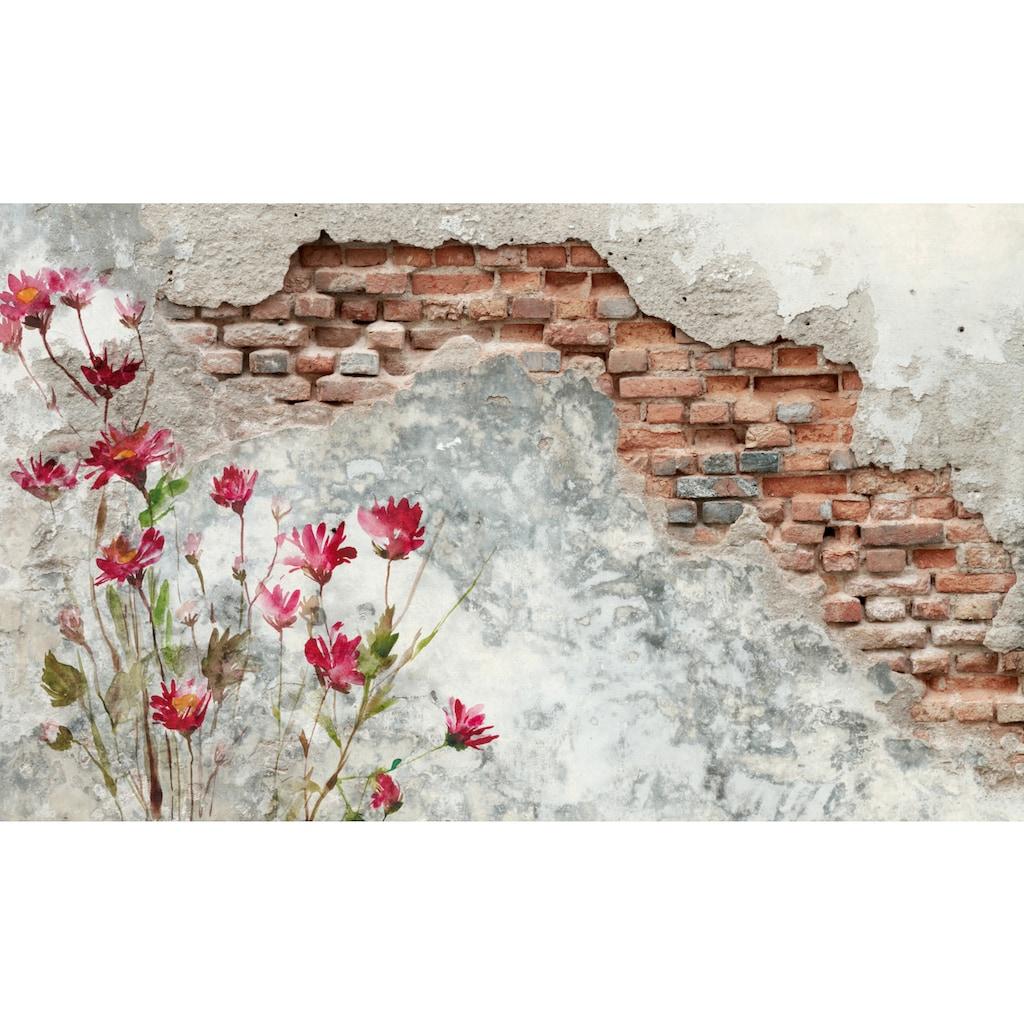 Papermoon Fototapete »Brickwall«