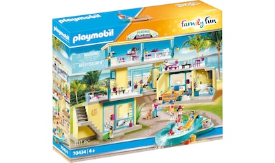 Playmobil® Konstruktions-Spielset »PLAYMO Beach Hotel (70434), Family Fun«, ; Made in Germany kaufen