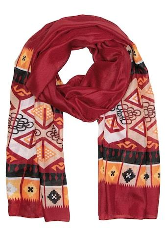 CASSANDRA Schal mit symmetrischem Muster »Ethno« kaufen