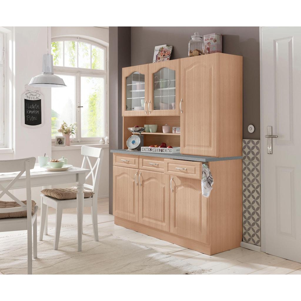 wiho Küchen Buffet »Linz«, in Landhaus-Optik, Breite 150 cm