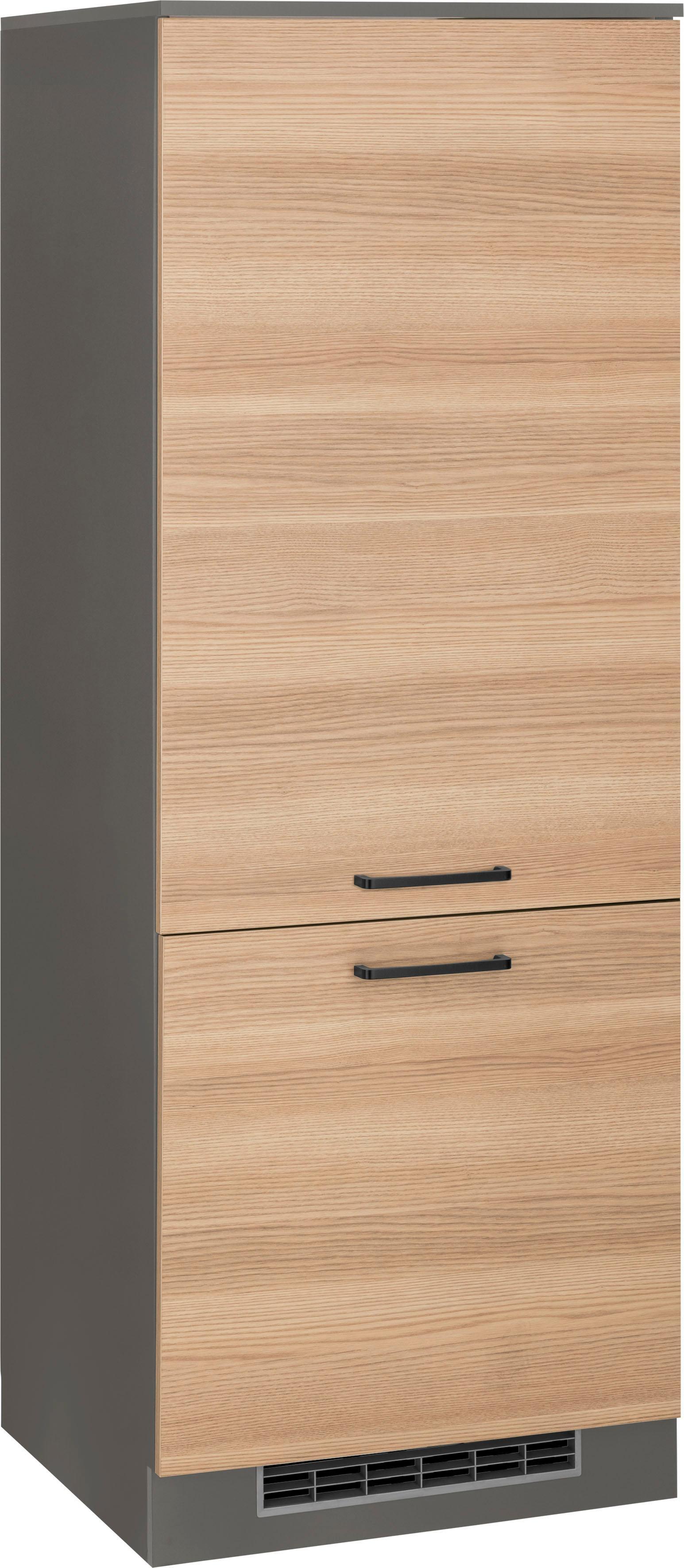 Wiho Küchen Kühlumbauschrank Esbo   Küche und Esszimmer > Küchenschränke > Umbauschränke   Melamin   Wiho Küchen
