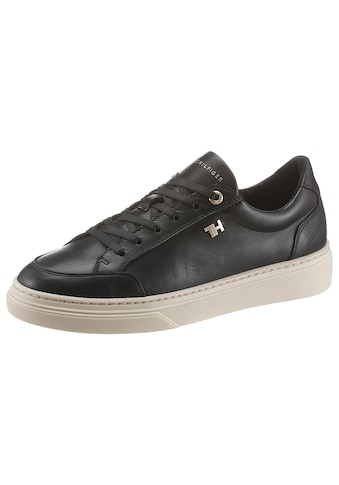 TOMMY HILFIGER Plateausneaker »ELEVATED TH LEATHER CUPSOLE« kaufen