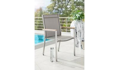 DESTINY Gartensessel »MACAO«, Stahl/Textil, stapelbar kaufen