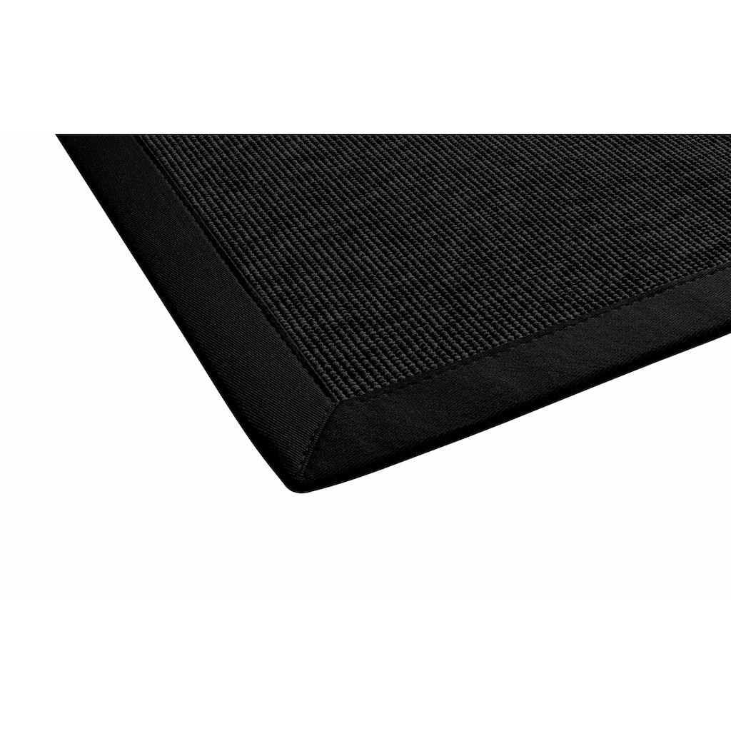 Dekowe Teppich »Naturino Rips«, rechteckig, 7 mm Höhe, Flachgewebe, Sisal-Optik, mit Bordüre, In- und Outdoor geeignet, Wohnzimmer