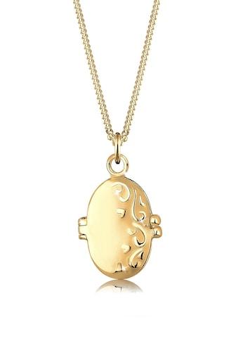 Elli Kette mit Anhänger »Medaillon Ornament 925 Sterling Silber« kaufen
