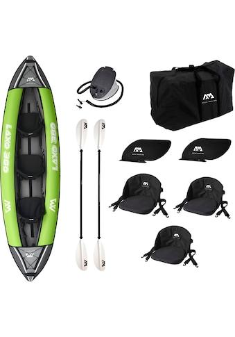 Aqua Marina Zweierkajak »Laxo«, (Set, mit 2 Paddeln und Luftpumpe) kaufen