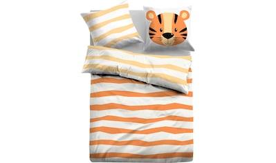 """TOM TAILOR Kinderbettwäsche »Malik«, """"kleiner Tiger"""" kaufen"""