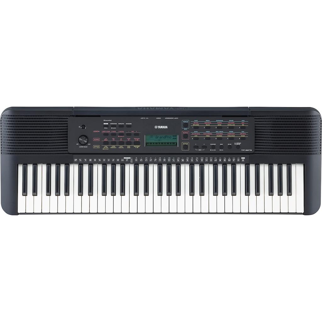 Yamaha Keyboard »PSR-E273«, mit Lernfunktion und Quizmodus