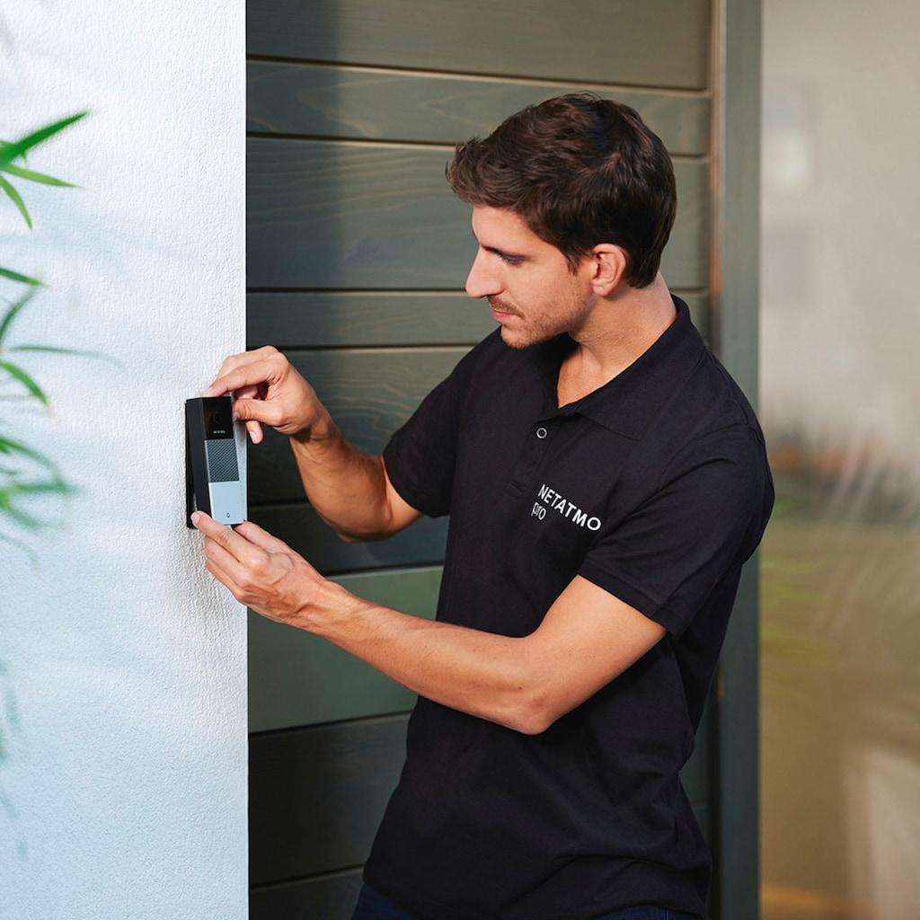 Netatmo Video-Türsprechanlage »Smarte Videotürklingel«, Außenbereich