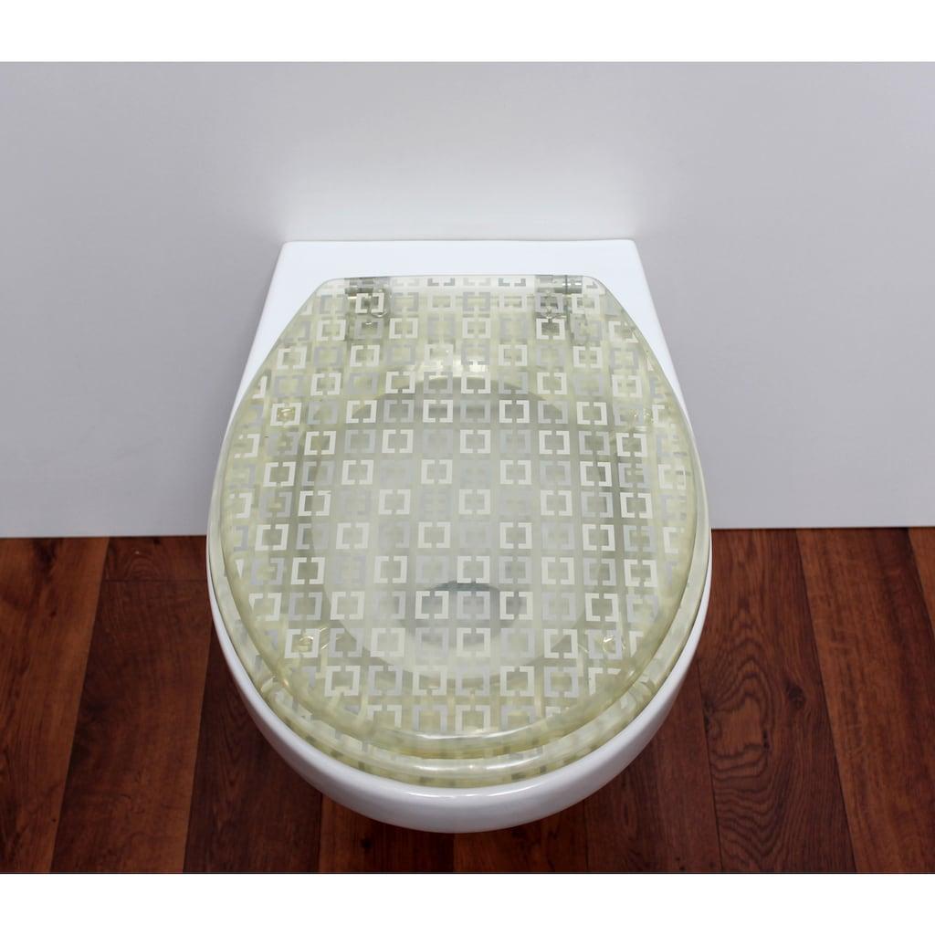ADOB WC-Sitz »Chicago«, mit Metallscharnieren