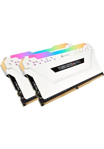 Corsair »VENGEANCE® RGB PRO 32 GB (2 x 16 GB) DDR4 DRAM 3.200 MHz C16« PC - Arbeitsspeicher kaufen