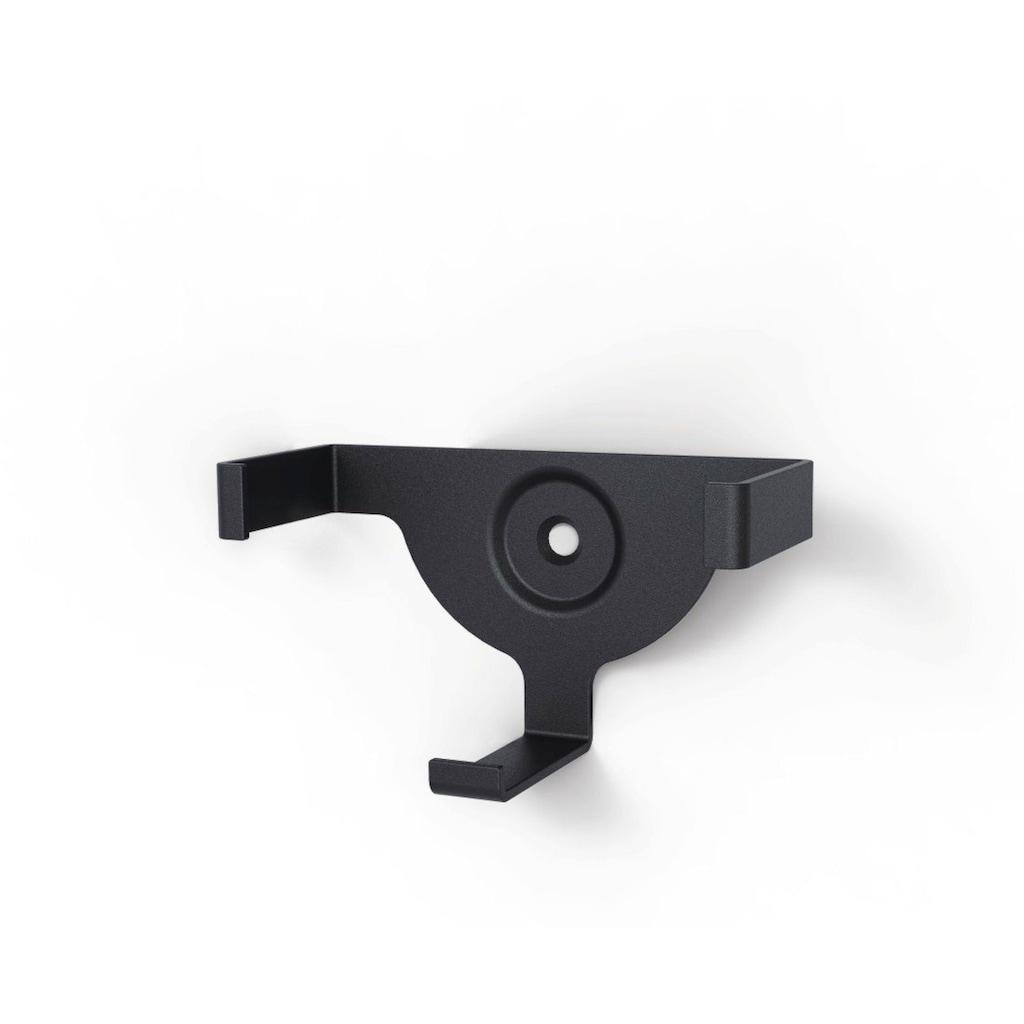 Hama Wandhalterung für Amazon Echo Dot (2. Generation), Schwarz