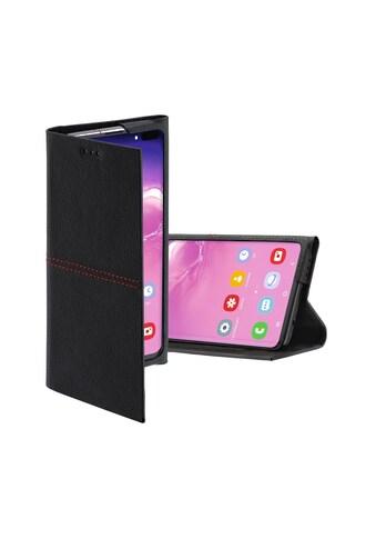 Hama Booklet, Hülle,Tasche für Samsung Galaxy S10+ Schwarz/ Rot kaufen