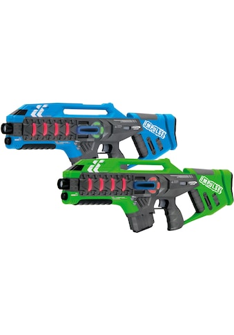 "Jamara Laserpistole ""Impulse Laser Gun Rifle blau/grün"", (Set, 2 - tlg.) kaufen"