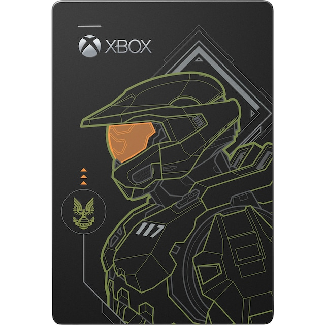 """Seagate externe Gaming-Festplatte »Game Drive for Xbox 5TB Halo Master Chief Limited Edition«, 2,5 """", Inklusive 2 Jahre Rescue Data Recovery Services"""
