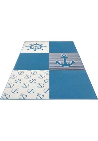 HANSE Home Kinderteppich »Ocean Patchwork«, rechteckig, 9 mm Höhe kaufen