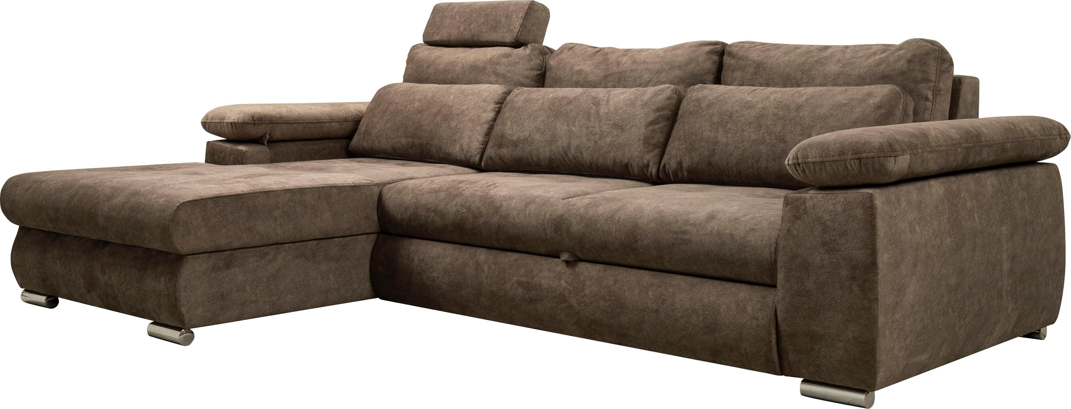 Home affaire Ecksofa Cork (mit Bettfunktion und Bettkasten)