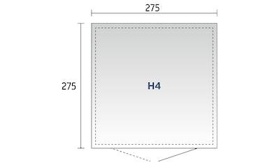 Biohort Gerätehaus »Highline H4«, versch. Farben kaufen