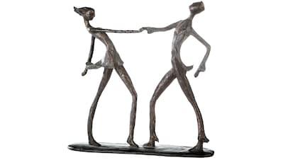 Casablanca by Gilde Dekofigur »Skulptur Jive«, Dekoobjekt, Höhe 36 cm, Tänzer, mit... kaufen