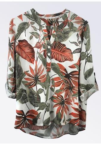 Heimatliebe Bluse mit Blumendruck kaufen