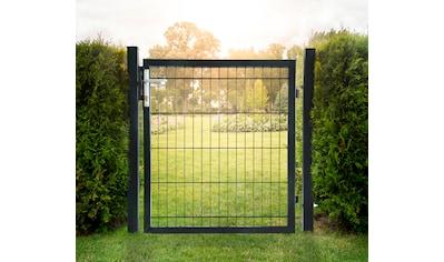 HOME DELUXE Gartentor, BxH: 100x160 cm, für Doppelstabmatten kaufen
