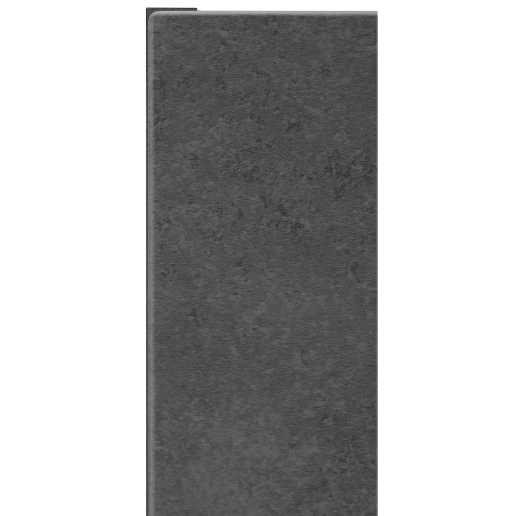 HELD MÖBEL Klapphängeschrank »Tulsa«, 100 cm breit, mit 1 Klappe, schwarzer Metallgriff, hochwertige MDF Front