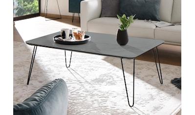 Villeroy & Boch Couchtisch »AMARA«, mit Keramiktischplatte und Haarnadelfuß kaufen
