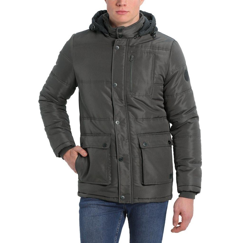 Blend Winterjacke »Lima«, warme Jacke mit gefütterter und abnehmbarer Sweatkapuze
