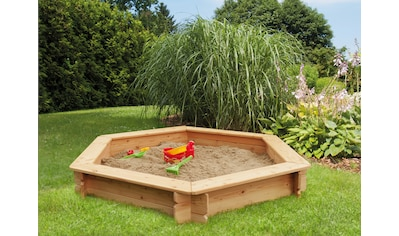 Kiehn-Holz Sandkasten, BxTxH: 175x175x30 cm kaufen
