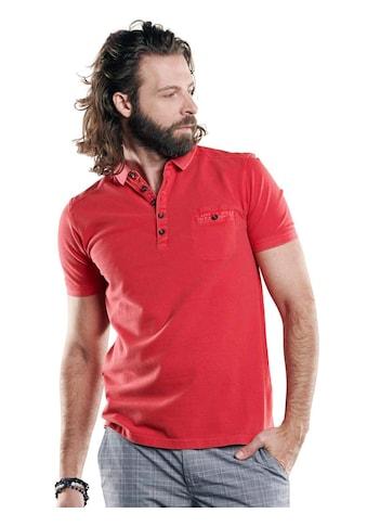 emilio adani Sportives Poloshirt mit schmaler Passform kaufen
