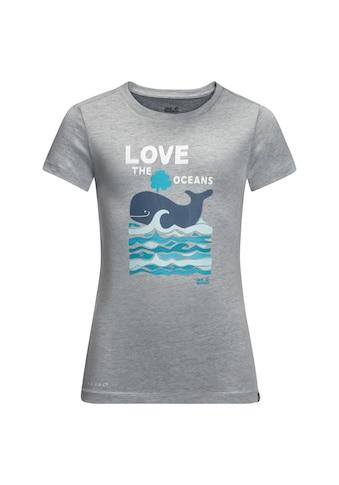 Jack Wolfskin T - Shirt »OCEAN T KIDS« kaufen