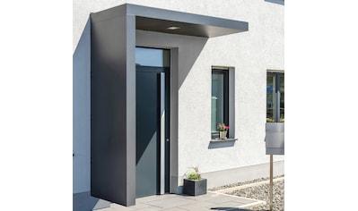 GUTTA Rechteckvordach »BS Plus«, mit Seitenteil links, BxTxH: 200x90x234,5 cm kaufen