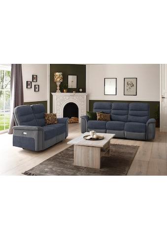 DELAVITA 3-Sitzer »Maldini«, mit hohem Sitzkomfort, elektrischer Relaxfunktion und... kaufen