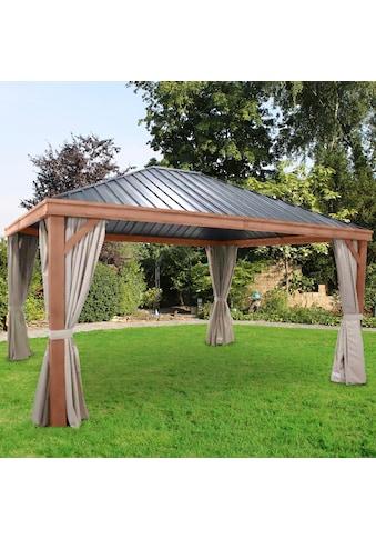 LECO Pavillon »Luxus«, BxL: 365x425 cm, ohne Seitenteile kaufen
