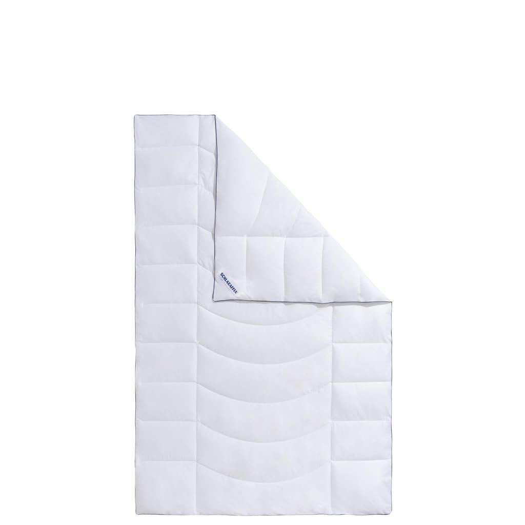 Schlaraffia Microfaserbettdecke »Relax«, normal, Füllung 100% Polyester, Bezug 100% Baumwolle, (1 St.), gefüllt aus einer Mischung zweier hochbauschiger, superweicher Hightech-Fasern