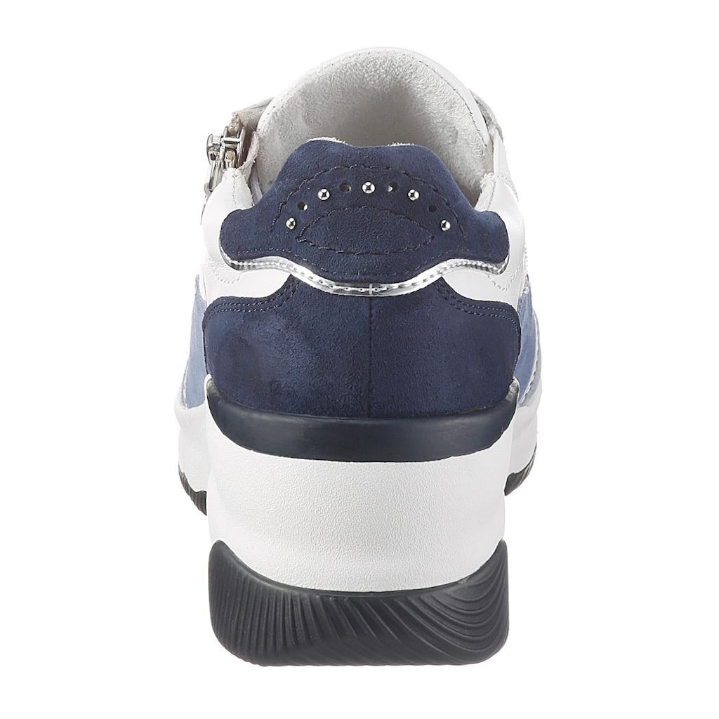 Tamaris Wedgesneaker »Pure Relax«, mit dezenten Metallic-Details