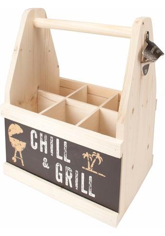 """Contento Flaschenkorb """"Chill & Grill"""" kaufen"""