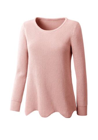 Classic Inspirationen Pullover mit effektvoll gewelltem Saum kaufen