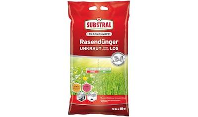 Scotts Substral Rasendünger »2 in 1 UNKRAUT bleibt chancenLOS«, 9,1 kg kaufen