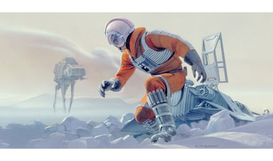 Komar Fototapete »Star Wars Classic RMQ Hoth Battle Pilot«,... kaufen
