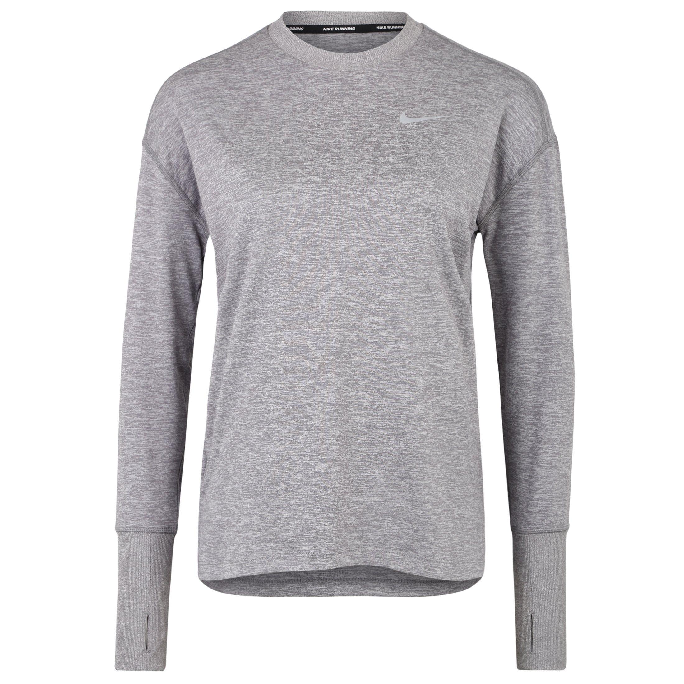 Nike Laufshirt Crew | Sportbekleidung > Sportshirts | Grau | Nike