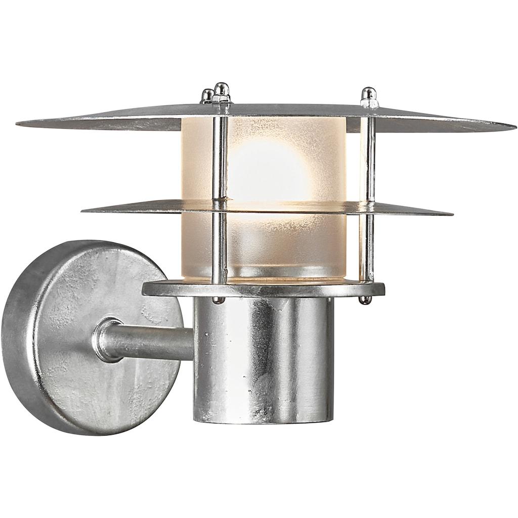 Nordlux Wandleuchte »BASTIA«, E14, 15 Jahre Garantie auf Korrosions, seewasserfest, verzinkter Stahl