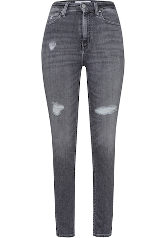 Calvin Klein Jeans Skinny-fit-Jeans »HIGH RISE SKINNY ANKLE«, mit Calvin Klein Jeans... kaufen