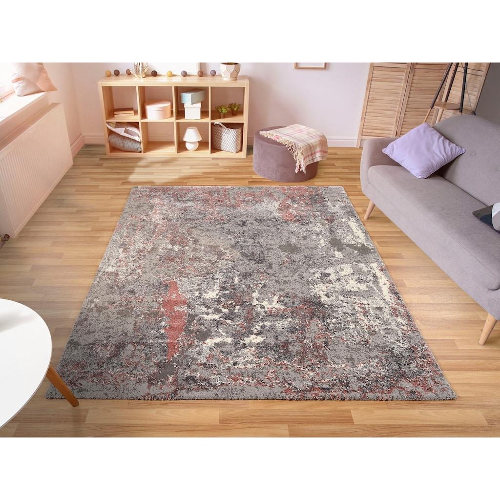 OCI DIE TEPPICHMARKE Teppich »Juwel Liray«, rechteckig, 20 mm Höhe, Kurzflor, Wohnzimmer