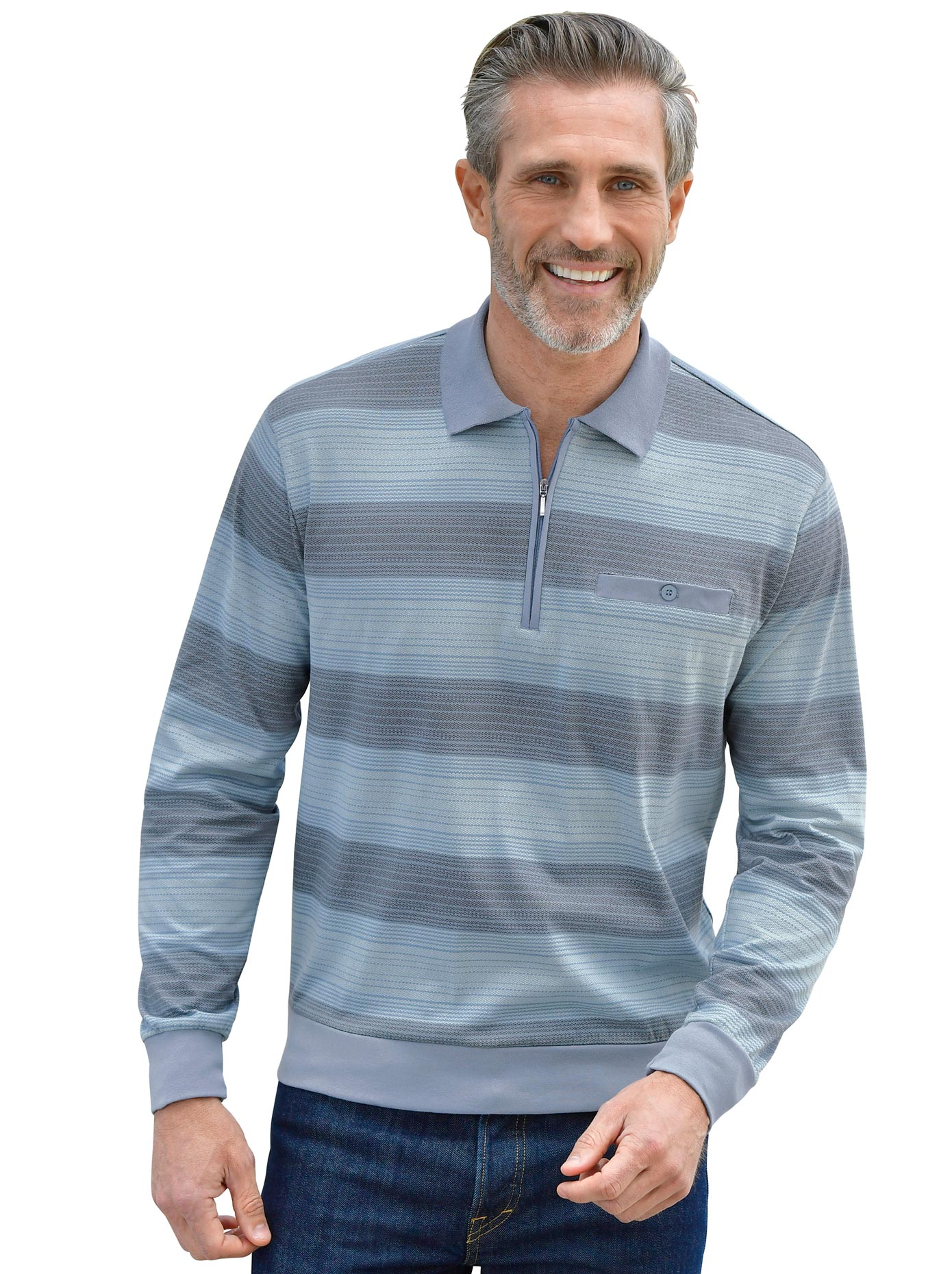Marco Donati Langarm-Shirt mit flächigem Druck | Bekleidung > Shirts > Langarm Shirts | marco donati